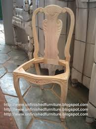 Wooden Furniture : Unfinished Wood Chairs Elegant Dining For ...
