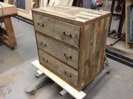 Recycled Pallet Dresser And Nightstand