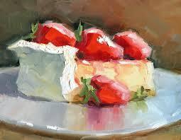 Oil Painting workshop The Art Studio Slice CakesFood