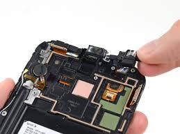 Samsung Galaxy Note II Headphone Jack Earpiece Speaker Assembly