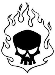 Skull And Flame Tattoos