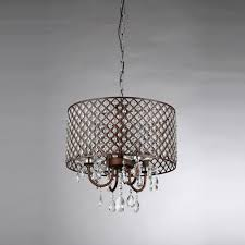 Home Depot Tiffany Style Lamps by Warehouse Of Tiffany Alexia 4 Light Antique Bronze Chandelier With