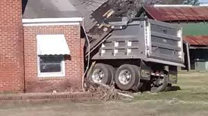 Dump Truck Plows Into Home Near Angier | Abc11.com
