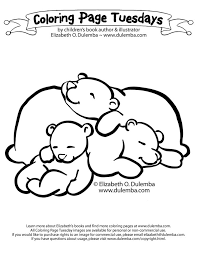 Related Keywords Suggestions For Hibernating Bear Coloring Page