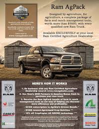 Ram Certified Agriculture Dealership
