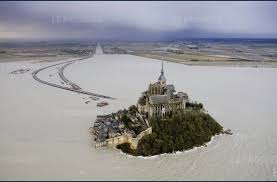 mont michel maree album photo et le mont michel redevint une île