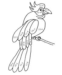 Free 2nd Grade Math Coloring Pages
