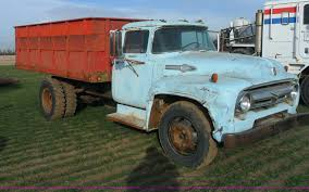 100 1956 Ford Truck F700 Truck Item AB9239 SOLD February 13 Ag Eq