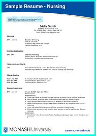 Icu Nursing Resume Examples
