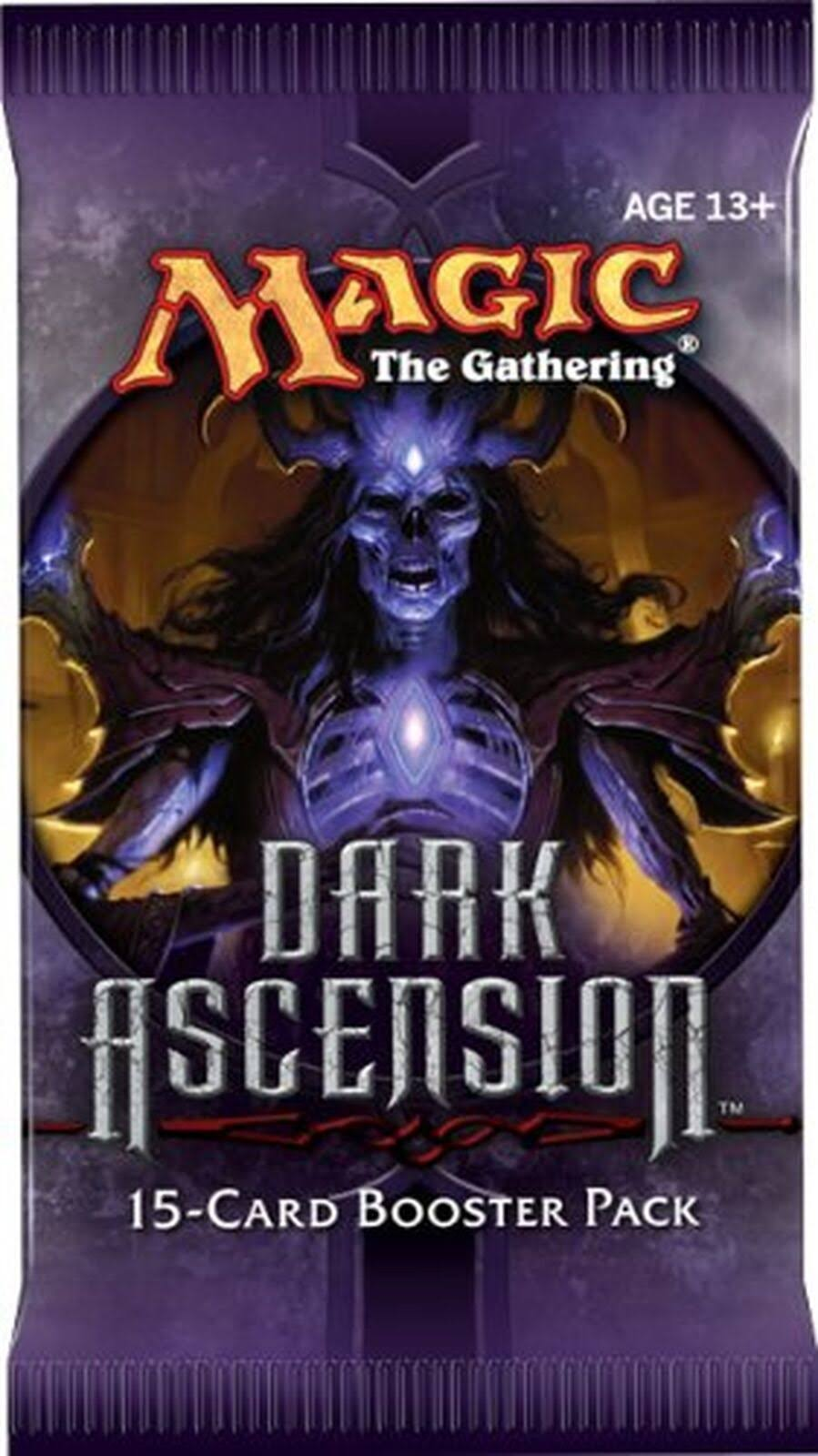 Magic the Gathering Trading ard Game - Dark Ascension Booster Pack