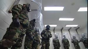 chambre à gaz états unis protection anti bactériologique exercice armée etats unis sd
