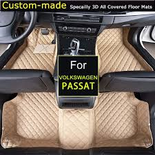 car floor mats for vw passat b5 b6 b7 b8 volkswagen foot rugs auto