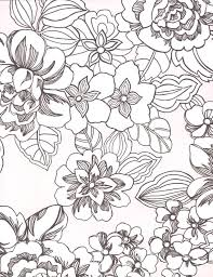 Tropical Flower Coloring Pages 10 Printable