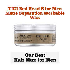 Bed Head Matte Separation Wax by 10 Best Hair Waxes For Men You Can Order Right Now
