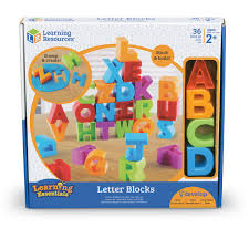 Buy Letter Blocks By Learning Resources LER7718 Primary ICT Shop