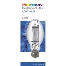 plantmax px ms1000 7200 mh grow light 1 000w 7200k