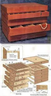 Sewing Cabinet Woodworking Plans by Best 25 Jewelry Box Plans Ideas On Pinterest Wooden Box Plans