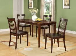 Tanya 5 Piece Kitchen Dinette Dining Set, Cherry Wood ...