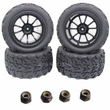 100 At Truck Tires 4pcsLot 32 Rubber RC Wheel Rim For Exceed Infinity