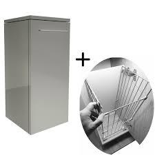 hängeschrank grau hochglanz wandschränke badezimmer