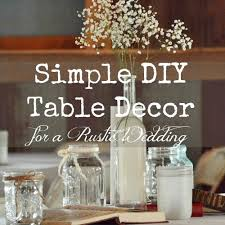 Full Size Of Simple Rustic Wedding Table Decor Decorations For Party Pinterest Inspiring Exciting Ideas Archived
