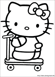 Full Image For Hello Kitty Coloring Pages Mermaid Index Merry Christmas