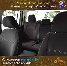 STANDARD Front Seat Covers (VA11HB) - Dingo Trails