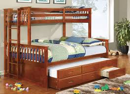 solid wood bunk bed with queen size bottom delicate and