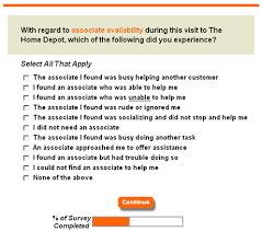 Home Depot Transaction Survey Great Brook Consulting