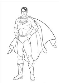 Superman Printable Coloring Pages Best