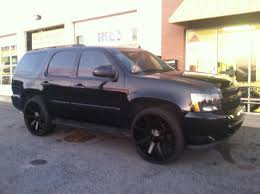 2007 Tahoe ALL BLACK MURDERED OUT ON 26