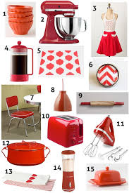 Kitchen Accents And Accessories Red Decor Ideas
