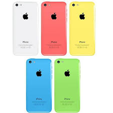 iPhone 5C Rear Housing Case with Sim Tray and Buttons