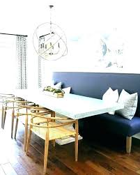 Dining Table And Bench Room