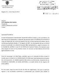 Carta Presidente Santos