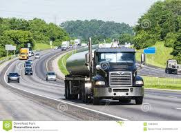 100 Gasoline Truck On Interstate Stock Photo Image Of Image Industry