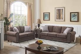 100 2 Sofa Living Room Nylah Nailhead Trim Piece Set