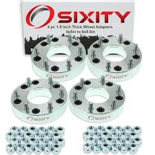 100 Truck Wheel Adapters 4pc 15 5x5 To 6x55 Spacers For Pickup SUV