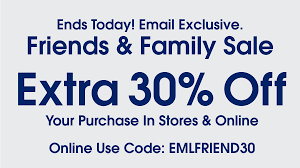 Final Day For Extra 30% Off! Exclusive Friends And Family ... Freshpair Promo Code Eyeko Codes Walmart Discount City Store Wss Coupons With Barcode Dc Books Coupon Interval Intertional Membership Coupon Rosenberry Rooms Amazon Discounts A4c Promotional Coupons For Indy Blackhorse Com 15 Off 75 Pinned December 26th 10 25 At Jcpenney Via Garage Com Code Aropostale Buy Online Pickup In Store Time The Final Day For Extra 30 Off Exclusive Friends And Family Drivers Ed Direct Mecca Bingo Hall Vouchers