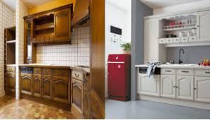 rénover plan de travail cuisine carrelé peinture sur plan travail cuisine en carrelage photo avant après