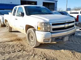 2007 Chevrolet Silverado For Sale At Copart Abilene, TX Lot# 57296238