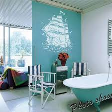 Wall Mural Decals Amazon by Amazon Com Vinyl Pirate Ship Wall Decal Sail Boat Wall Sticker