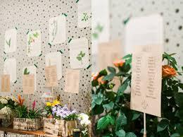 mariage je veux un plan de table original décoration