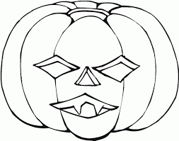 Halloween Pumpkin Pictures For Coloring