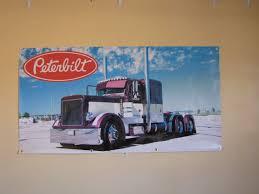 Peterbilt Trucks PVC Vinyl Banner Flag Poster Sign 1000x1800mm | EBay