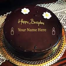 chocolate happy birthday cakes images with name edit online write friends name on chocolate birthday