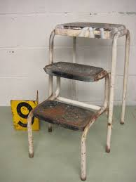 Cosco Retro Chair With Step Stool Yellow by Older Metal Step Stool U2014 Home Ideas Collection Useful Ideas