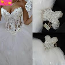 2015 real picture white princess ball gown wedding dresses
