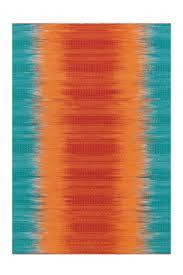 arte espina teppich farbverlauf wohnzimmer bunt rot orange