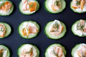 easiest canapes and easy canapés recipes olive magazine